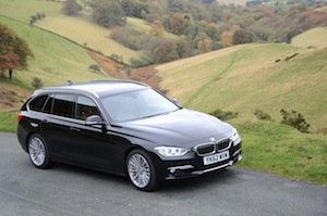 BMW 330d Touring driving experience