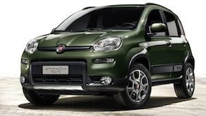 New Fiat Panda 4x4 at the Paris Motor Show