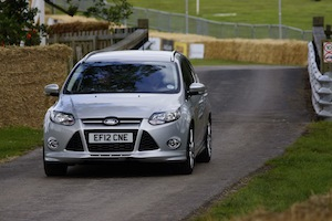 Ford Focus 1-litre EcoBoost at the 2012 Cholmondeley Pageant of Power