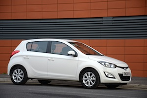 city car Hyundai i20 1.1 CRDi Blue