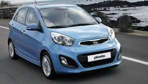 New Kia Picanto with low CO2 emissions