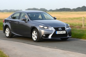 Lexus IS 300h Review - GreenCarGuide co uk
