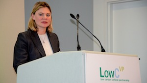 Justine Greening MP Secretary of State for Transport