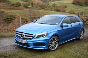 Car Facts and Figures Mercedes-Benz A 200 BlueEFFICIENCY AMG Sport