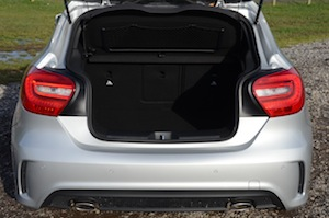 Mercedes-Benz A 200 BlueEFFICIENCY AMG boot space