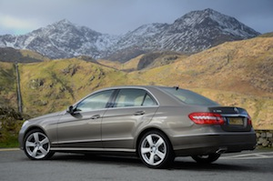 The Mercedes-Benz E 300 BlueTEC HYBRID is a genuinely low emission car