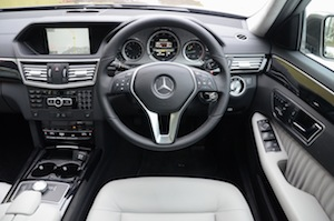 Mercedes-Benz E 300 Hybrid dashboard