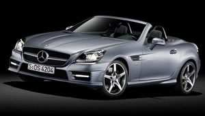 The new Mercedes-Benz SLK Roadster,