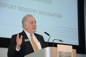 Chris Aylett, CEO of the Motorsport Industry Association (MIA)
