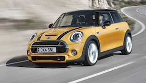 New MINI: economy improved by up to 27 per cent