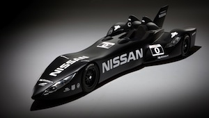 The Nissan DeltaWing car race for the first time at the Le Mans 24 Hours, 16-17 June 2012