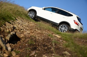 Nissan Qashqai off-road test drive