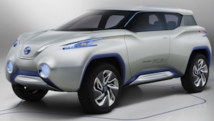 Nissan TeRRA hydrogen fuel cell SUV concept