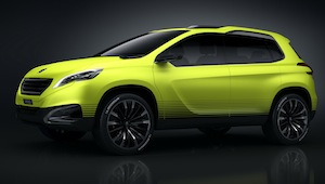 Peugeot 2008 Crossover Concept at Paris Motor Show 2012