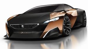peugeot-onyx at Paris Motor Show 2012