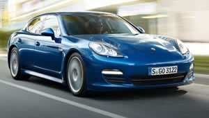 The Porsche Panamera S Hybrid has CO2 emissions of just 159 g/km  together with 41.5 mpg combined fuel economy