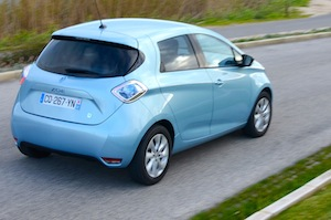 Renault ZOE car facts and figures