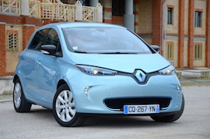 Renault ZOE Expression Electric car