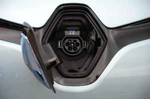 Renault ZOE plug-in charger 'Chameleon'