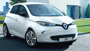 Renault ZOE is the only electric vehicle to feature the Chameleon charger