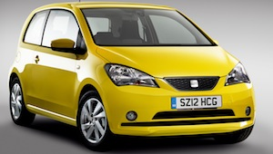 The new SEAT Mii city car 2012