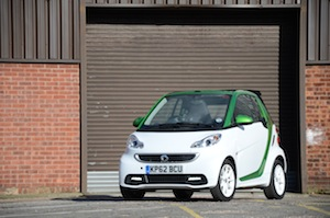 Smart fortwo ed cabrio review