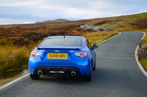 The Toyota GT86 and the Subaru BRZ are basically the same car