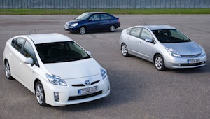 Total global sales of Toyota and Lexus full hybrid vehicles