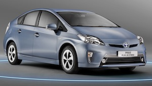 official EU emissions and economy figures for the Toyota Prius Plug-In Hybrid