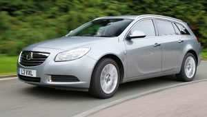 The Vauxhall Insignia ecoFLEX diesel model now has ten per cent less CO2 emissions