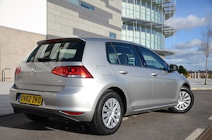 The new Golf 1.6-litre diesel S trim