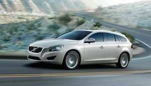 Volvo V60 plug-in hybrid all-wheel drive estate car