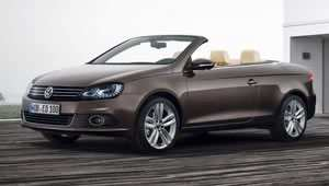 The Volkswagen Eos convertible coupe